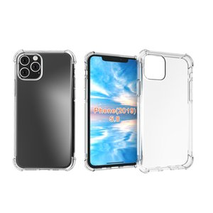 For iPhone 11 Pro 2019 Shockproof Clear Soft Gel TPU Back Mobile Cover Case New Release Wholesale