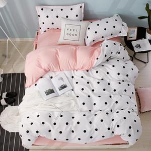35 Luxury Consolador Bedding Sets padrão geométrico Lençois de algodão / poliéster capa de edredão Folha de cama Fronhas Cover Set