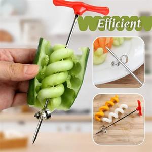 Вращающаяся машина Ручная Волшебное Roller Спираль Slicer Редька Картофельный Спираль Cutter Кухня Gadgets фруктовые и овощные Slicer