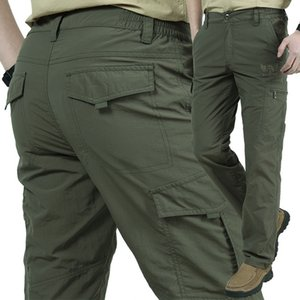 Airborne Jeans Casual Training Cotton Breathable Multi Pocket Military Gore-trousers Camouflage Breathable Quick Drying Cargo Pants Men