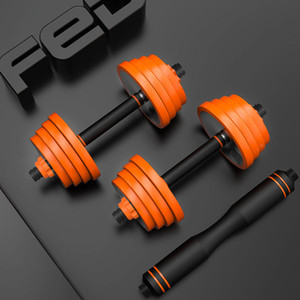 FED Pure Steel Home Fitness Dumbbell Barbell Multifunctional Outdoor Sports Fitness Equipment From mijiaYoupin - 20KG