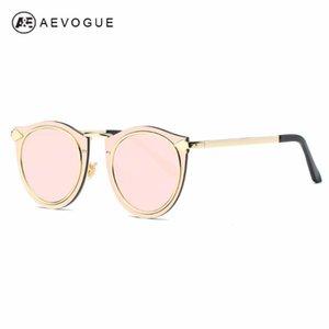 AEVOGUE occhiali da sole delle donne della struttura del metallo Classic Retro Frecce decorato del progettista di marca Steampunk Occhiali da sole UV400 AE0505