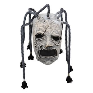Halloween Slipknot mascherina di orrore in lattice Maschera di Cosplay Props Per Tema Costume Party Mascara costume di Halloween DJ