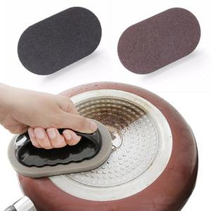 Brosse forte Décontamination bain éponge carreaux pinceau magique chaud Vente forte Décontamination de bain Brosse de cuisine Outils Nettoyez-les avec poignée