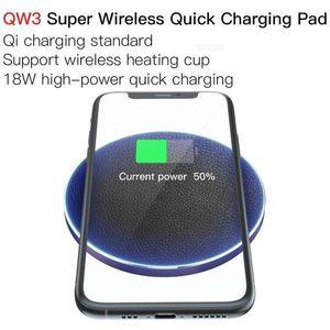 JAKCOM QW3 Super Wireless Quick Charging Pad новые зарядные устройства для сотовых телефонов как пластиковые наручные наушники i7 led camera light