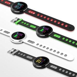 Q8 Pro intelligente Guarda IP68 pressione sanguigna impermeabile cardiofrequenzimetro Fitness intelligente Bracciale Tracker Bluetooth orologio da polso per iPhone Android