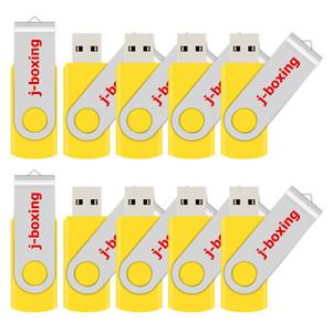 컴퓨터 노트북 멀티 색상 무료 배송 대량 10PCS 8 기가 바이트 USB 플래시 드라이브 회전 엄지 손가락 Pendrives의 USB 2.0 8기가바이트 메모리 스틱 엄지 저장