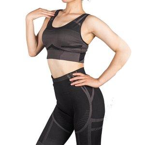 2 Piece Set Women Seamless Yoga Set Fitness Clothing High Waist Leggings+Sport Bra Gym Workout Clothes Woman Jogging Sportwear