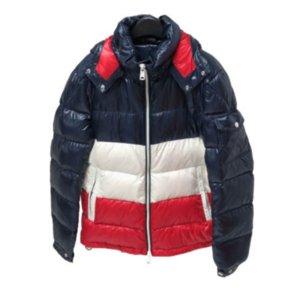 Mens Designer de Down Coats Luxo Carta Grosso Vestuário Etiquetas Parkas prova de vento Hoode Jacket 2020 inverno quente ao ar livre Coats M-3XL Hot Sale