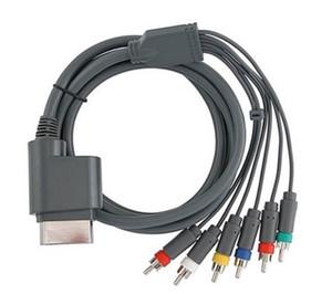 1.8M 6FT Component HD TV Video e RCA stereo Cavo AV per Xbox 360 Audio Video Cable LLFA