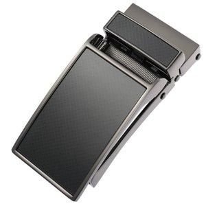Men's Business Alloy Automatic Buckle Unique Men Plaque Belt Buckles for 3.1cm Ratchet Men Apparel Accessories luxury fashion