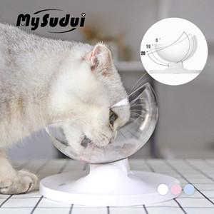 MySudui Противоскользящие Кошки Чаша Для Собак Pet Блюдо Округлые Сепарабольные Cat Диспенсер Для Воды Кошки Чаши Кормушки Талисманы Dla Psa
