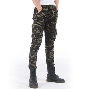 Fashion Spring Mens Tactical Cargo Joggers Camouflage Camo Pants Army  Casual Cotton Pants Hip Hop Male Trousers