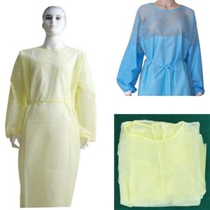 In Stock 24h Free DHL Shipping Adult Disposable Suit One Size Protective Clothing Overall Full Body Protection Suit