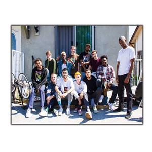 Искусство Шелковый плакат Брокгемптон пользовательские рэп-музыки группы 8x12 24x36 27x40 стены холст печати современные украшения живопись