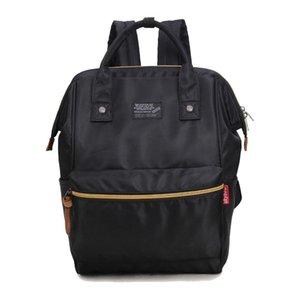 Designer- Yeni moda tasarımcısı sırt çantası kadın çanta tuval kız okul tarzı çantası marka lüks çanta gülümseme
