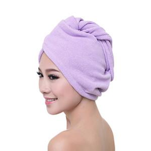 Women Long Hair Super Absorbent Quick-drying Bath Hat Thicker Microfiber Cloth Hair Dry Cap Bath Towel Shower Head Wrap Turban