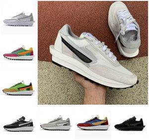2020 New Varsity Blue X LDV Waffle daybreak Mens Running Shoes For Women Wolf Grey Triple Black white Pine Green Gusto Sports Sneakers