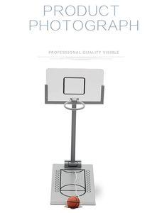 Hot New Mini bureau pliant machine de basket-ball, Machine de prise de vue jouet de bureau créatif décompression miniature jouet Jouets de bureau, livraison gratuite