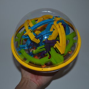 158steps 3D magical intellect maze ball IQ logic skill perplexus magnetic toy training tool smart challenge game balance Y200414