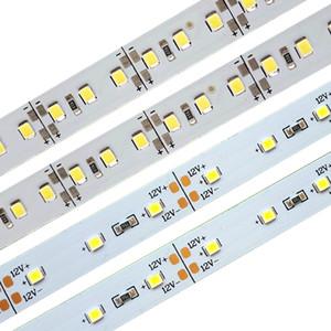 DC 12V SMD 2835 rígida Jóias Faixa de LED 60/120 Led 1M de alumínio Para Night Market Contador Showcase