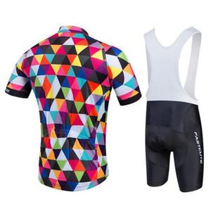 En Sıcak Satış ucuz fiyat Tenue Cycliste Homme Bisiklet Jersey Biker için Önlüğü Şort Takım Elbise bretelle Ciclismo Mtb Yol Bisikleti Giyim Setleri