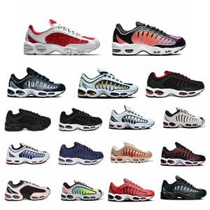 Gradiente barato OG Tailwind 4 IV homens Running Shoes Marinha Red Universidade e Ouro Preto Pure Platinum SUP Sapatilhas homem Almofada desportivas 40-45