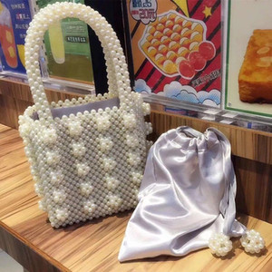Women Luxury Designer Bag Handbags Portable Pearl children pack new pearl dinner bag Fashionable party bag lady handbag
