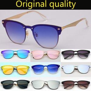أعلى جودة الحريق الماجستير 3576 مصمم العلامة التجارية نظارات شمس رجل إمرأة عدسات حماية من الأشعة فوق دي سولاي شاطئ الأزياء Eyeware مع حالة