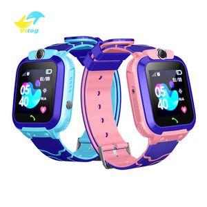 Vitog Q12 الذكية ووتش متعددة الوظائف الأطفال الرقمية ساعة اليد الطفل ساعة ذكية الهاتف مع كاميرا للأطفال هدية الطفل