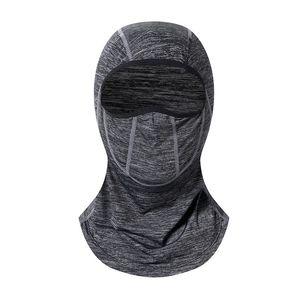 Hot 1 Pcs unisexe Ice soie crème solaire Turban moto vélo équitation masque Hanging oreille écharpe Foulards Wraps