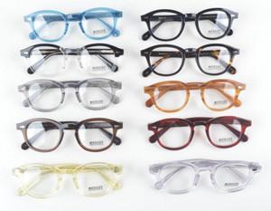 LEMTOSH Brillengestell klare Linse Johnny Depp Brillen Kurzsichtigkeit Brillen Retro oculos de grau Männer und Frauen Kurzsichtigkeit Brillengestelle