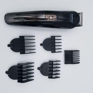 Kemei KM-600, работающий от батареи 2 В 1 Электрический Бритье Нос уха Триммер моющийся Борода волос Бритва для лица Уход за устройством