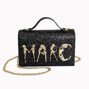 Catena di Designer-nuova delle donne del corpo Messenger Bag Donne borsa croce diagonale di svago borse di lusso borse delle donne le borse del progettista