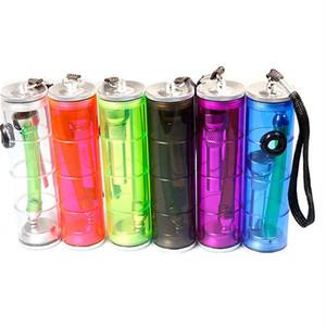 Şeffaf Küçük Sigara Borular 6 Renkler Plastik Yaratıcı Sigara Borular Sıcak Moda Aksesuar 60PCS ev araçları T2I5529-1 Sigara