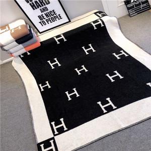 diseñador de lujo Señalización H lana cachemira clásico material grueso manta mantón múltiples opciones de color nuevo llegan 2020