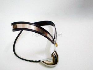 Gaiola Macho Enforcer Dispositivo castidade inoxidável para Chastity Belt Cock 2019 adultos Underwear Ajustável BDSM T-Shaped Sexue RJlib