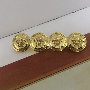 Nueva Llegada Mujeres Broche de Cabeza de Belleza Carta de Metal Cabeza de Belleza Broche de Lujo Traje Pin de Solapa Joyería de Moda para Fiesta de Regalo