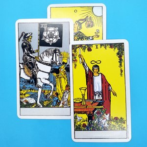 2020 Full English Rader Wait Tarot Cards Factory Made High Quality Smith Tarot Leack Board Game Cards