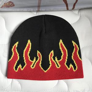 Chama beanie quente inverno chapéus para homens mulheres senhoras relógio docker crânio tampão de malha hip hop outono acrílico casual culares outdoor natal