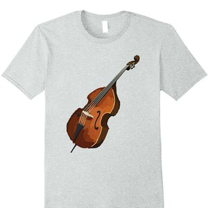 Kurzarm T-Shirt lustige Print Kontrabass Kontrabass Musik Tshirt T-Shirt T-Shirt