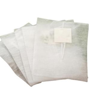 58*70mm Corn Fiber Tea bags Pyramid Heat Sealing Filter Teabags PLA Biodegraded Tea Filters