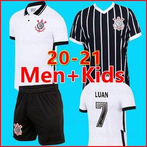20 21 Corinto camisa de futebol Corinthians Mens di calcio della camicia 2020 2021 nuova casa lontano SOCRATES Jadson BALBUENA delle uniformi di calcio jersey bambini