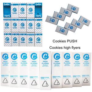 Os mais recentes cookies alta Folhetos Vape Cartridge Embalagem 1 ml Cerâmica Thick Oil Vape Cartuchos 0,8ml E Cigarettes Wax vaporizador Carrinhos 510 Tópico