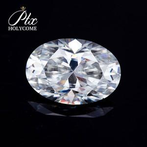 Красивый и моды 9.5x14mm 5ct овал вырезать большие свободные Муассанят алмазные камни
