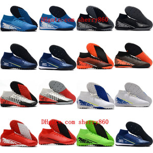 2020 mens soccer shoes Mercurial Superfly 7 Elite MDS TF IC indoor soccer cleats CR7 neymar football boots scarpe calcio