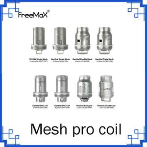 Em estoque Freemax malha Pro Substituição da Bobina Simples Dupla Triplo malha Bobinas chefe do núcleo para malha Pro tanque vs Juntas de bronze 0266287