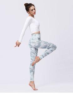 2019 Vintage Printing Yoga Pants Women Sexy Skinny Quick Drying Sport Gym Leggings 2019 Legging Femme Ladies Sportswear gym pants