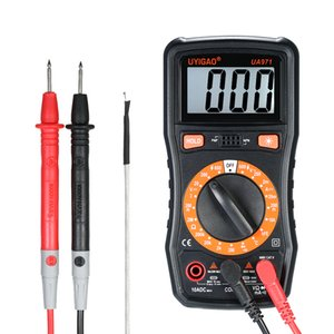 2000 Counts Digital Multimeter LCD Multi Meter Voltmeter Ammeter AC/DC Voltage Current Resistance Temperature Continuity Tester