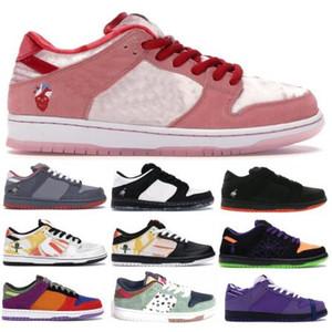 2020 Yeni Gelenler SB Dunk Tasarımcı Ayakkabı Strangelove Moda Kadınlar Düşük En Sneakers Zımba NYC Güvercin Erkek Ayakkabı Koşu Koşu